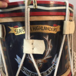 Front of a drum.