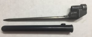 No4 MKIII bayonet and plastic scabbar