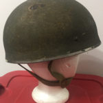 British Airborne Helmet MK II 1944 found in Scotland - right side