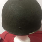 British Airborne Helmet MK II 1944 found in Scotland - rear