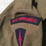 No3 COMMANDO blouse named to J R BRUCE Jr