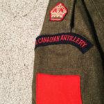 Pilot, Royal Canadian Artillery, battledress blouse dated 1953. Likely a Artillery spotter pilot (Auster or L-19 or helicopter pilot).