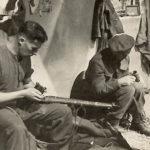 Sniper and observer cleaning kit British WWII . date and place unknown.
