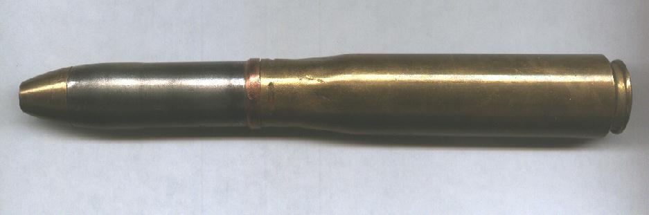 20mm cartridge - Oerlikon World War II.