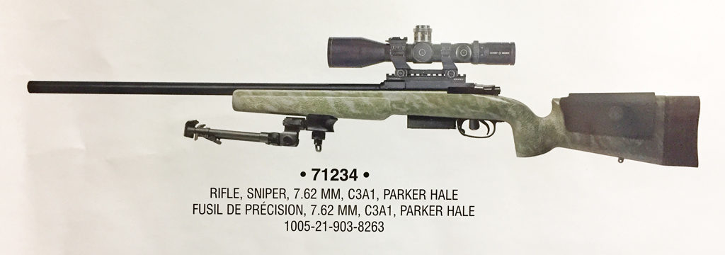 C3A1 sniper rifle DND photo