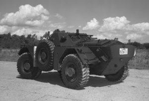 Ferret 54-82611 in 1973 (DND EE73-1600)