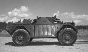Ferret 54-82611 in 1973 (DND EE73-1604)
