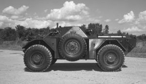 Ferret 54-82611 in 1973 (DND EE73-1605)