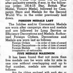 Page 7 - Information regarding mounting and wearing of decorations, campaign stars and medals, published by the Department of Veterans Affairs Canada circa 1945.