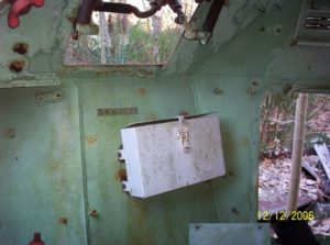 54-82572 CAR number inside compartment James McNeely NC USA