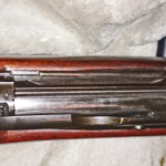 Second rifle which has no serial number. View from above. Note that there is no charger guide.
