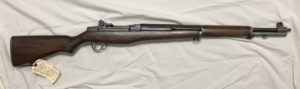M1 Garand rifle made by Springfield Armory early in 1945.