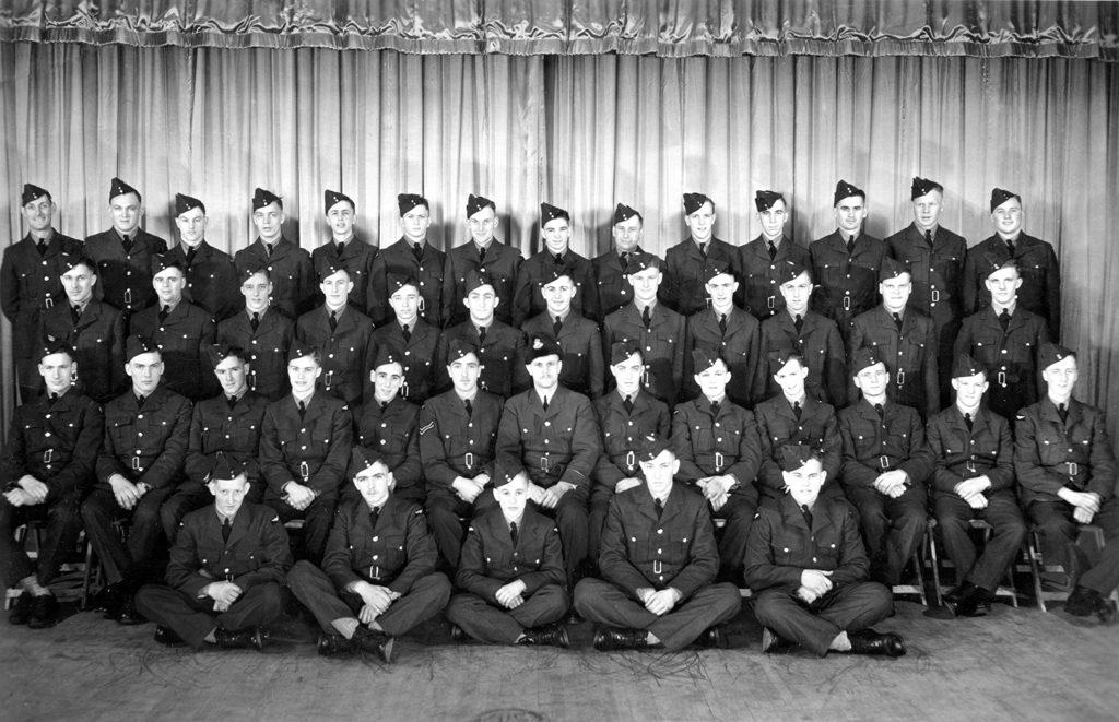 J. W. Cumbers' class, Brandon, Manitoba 1941