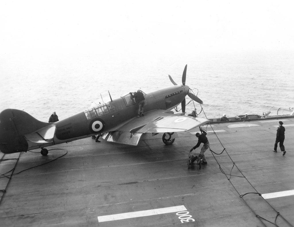 """RCN Fairey Firefly FR MK IV VH 128 """"SEE WHERE YOUR TAXES GO"""""""