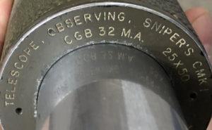 Telescops Observing Sniper's C MKI Scope 70-C case 483-C