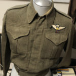 Dillon'd Battledress blouse restored - parachute badge replaced. Pegasus patches replaced by a pair from Lieut Quirk 1CPB.