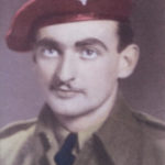 Pte James R DILLON HQ Coy 1 CPB POW D-Day 1944. Photo liklely taken upon repatriation to UK.