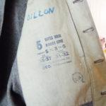DILLON's name inside his battledress blouse.