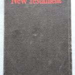 Dillon's New Testament cover.