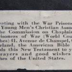 Dillon's New Testament inscription.