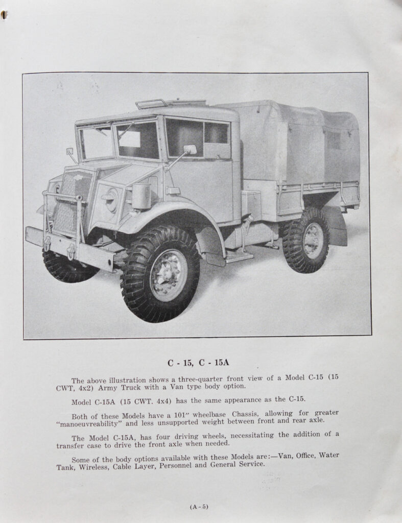 CMP Chev manual MB-C2