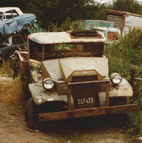 CMP F-8 as found in Surrey BC junkyard
