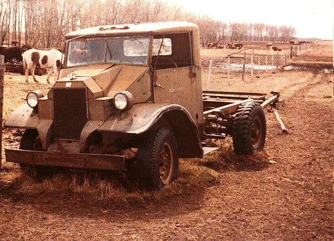CMP F15 Cab 11 as found in cow pasture in Saskatchewan in 1979.