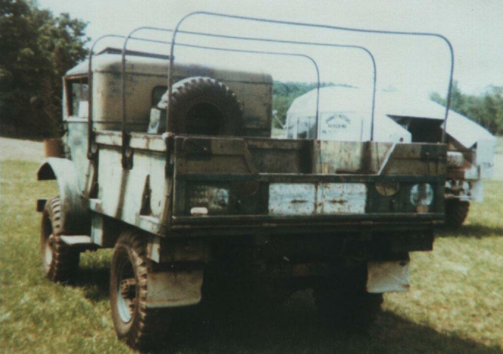 CMP rear view Gregg's POWR 15 Cwt