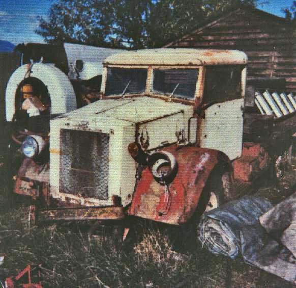 Pilot Model Chevrolet 15 Cwt 1938 vintage as found by Albert Siemons in B.C.