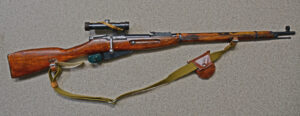 Mosin 90/31 PU sniper made by Tula in 1944. With matching scope made by Progress.