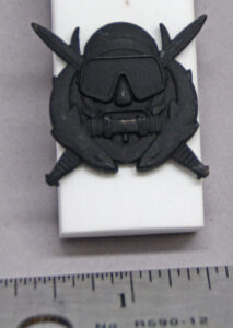US Army Combat Diver Badge - front
