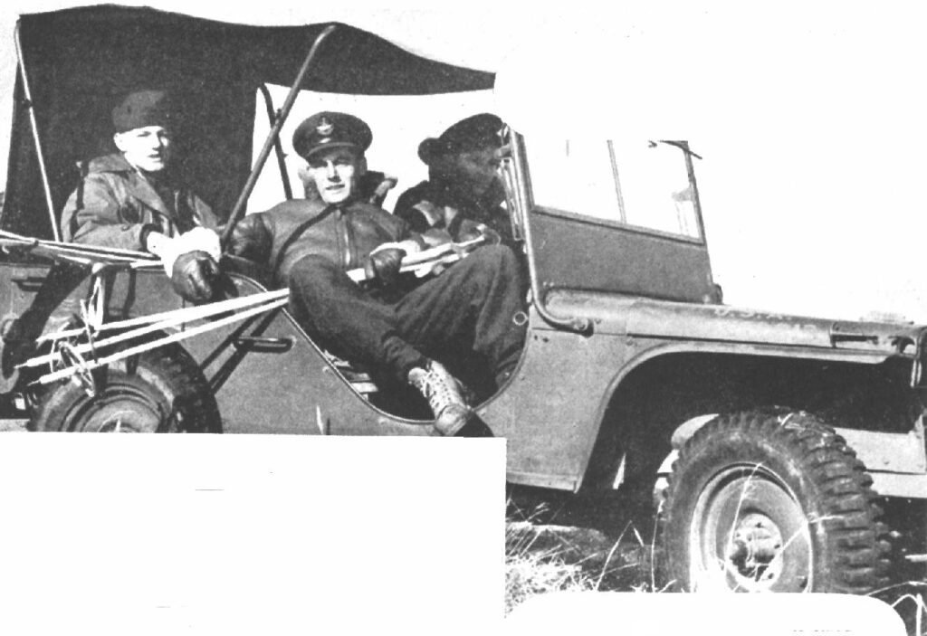 Ford GP being used by Royal Canadian Air Force members in the Aleutians in 1942.