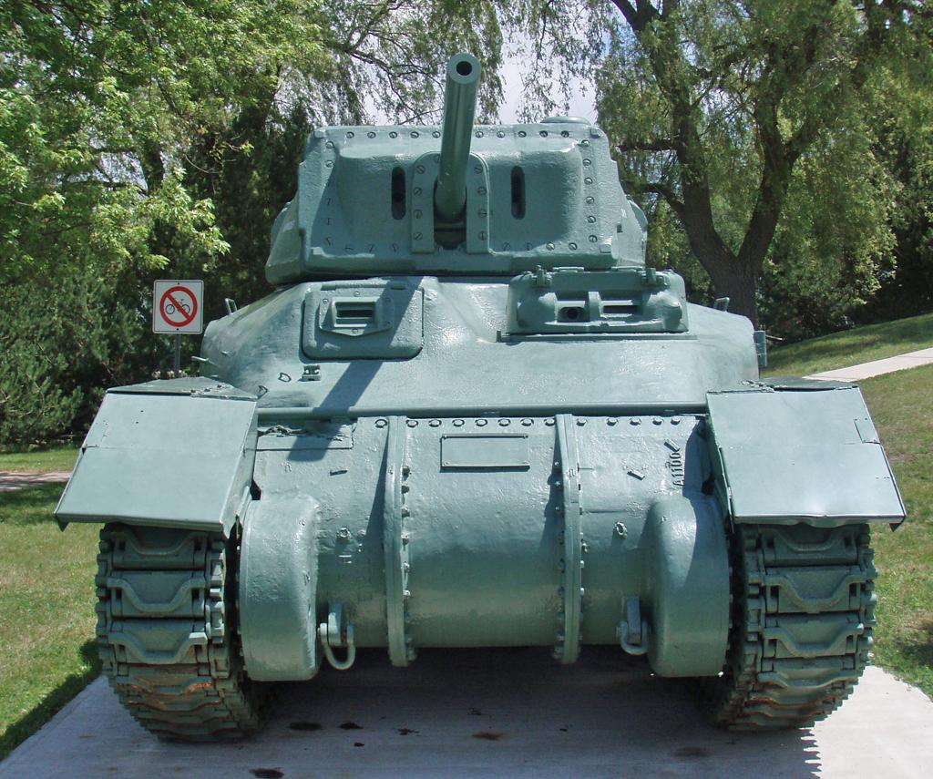 RAM tank CFB Borden front in 2009