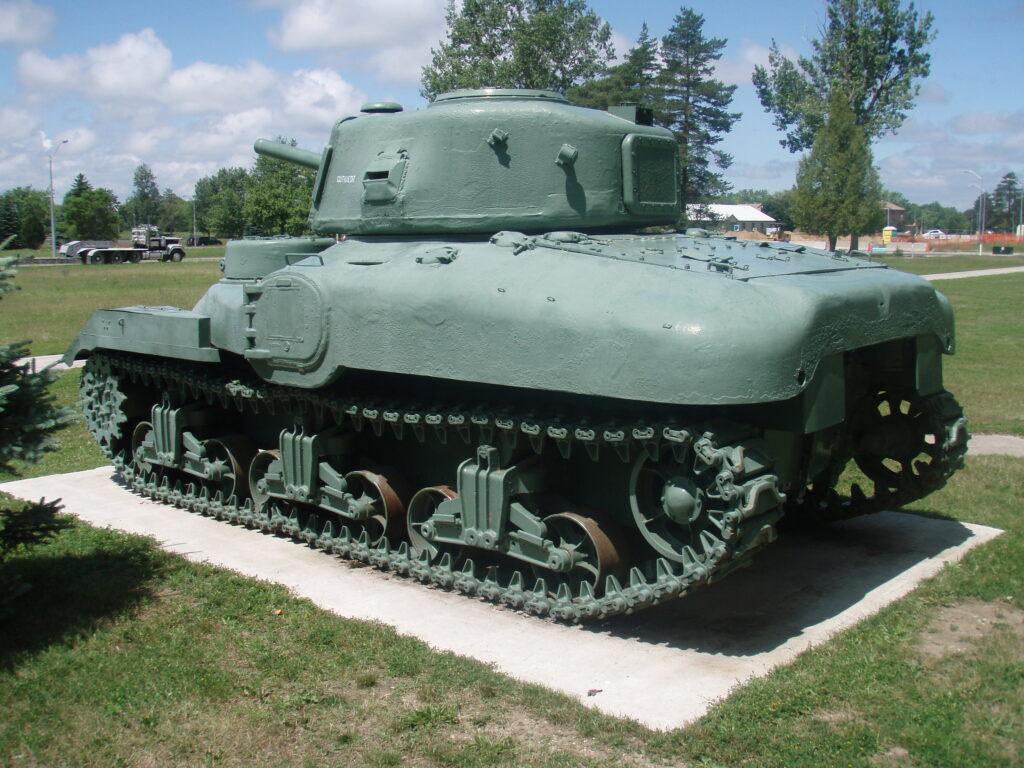 RAM tank CFB Borden left side in 2009