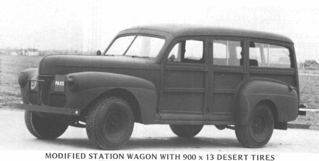 C11ADF station wagon, Ford factory photo.