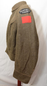 Blouse Battledress Canadian Aug 1 1942 with Seaforth of C insignia ADDED (2) 1