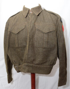 Blouse Battledress Canadian Aug 1 1942 with Seaforth of C insignia ADDED (3