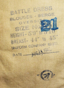 Blouse Battledress Canadian Aug 1 1942 with Seaforth of C insignia ADDED (6