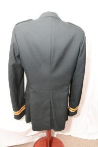 Coat Mans Service Fress Dark Green 1985 CAPTAIN rank (2