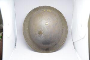 RARE British Columbia Police 1941 helmet CL/C - top view