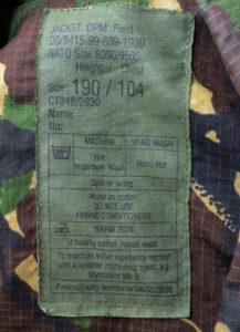 Jacket DPM Field British NATO camouflaged (3)