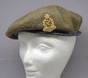 RCAMC WWII beret - 1