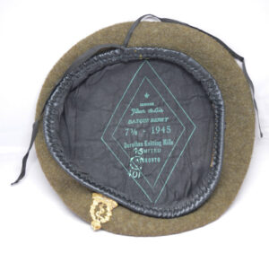 RCAMC WWII beret - 2