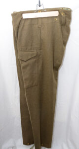 WWII British battledress trouses REPRODUCTION (1)
