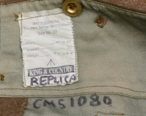 WWII British battledress trouses REPRODUCTION (2)