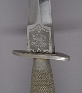 "1st Pattern F-S Fighting Knife ""WILKINSON SWORD"" etching"