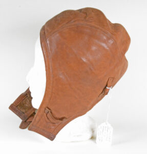 1922 Flying Helmet Canadian issue left side