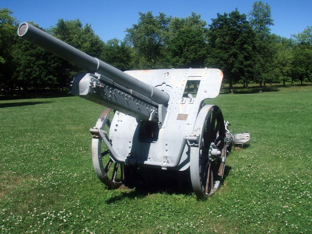 Field Gun SN 201 captured by 7 Bn CEF at VIMY RIDGE now at NOTL