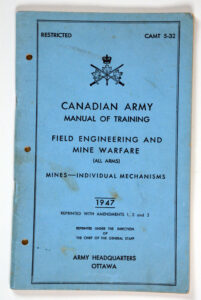 CAMT 5-32 Mines Individual Mechanisms 1947