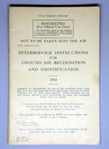 Ground - Air Recognition and Identification 1943